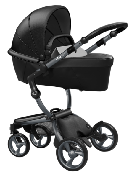 Mima_Xari_Product_Shot_Black_Flair_Graphite_Chassis_Stone_White_Carrycot.png