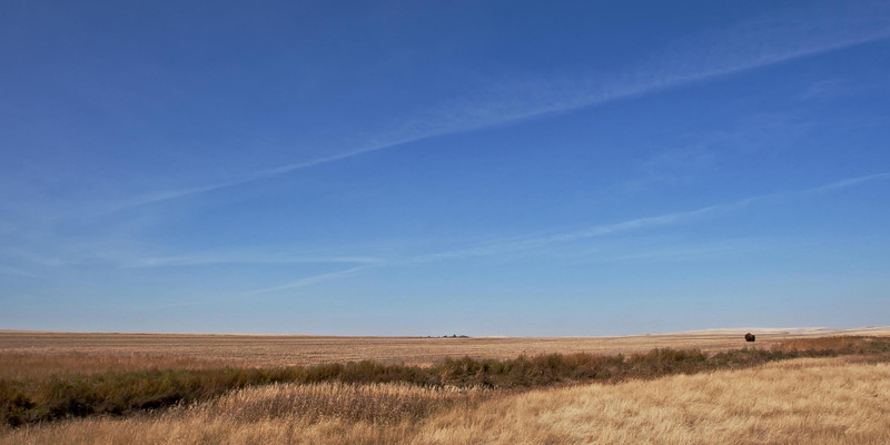 Lines across the land.
