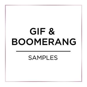 GIF & Boomerang Samples