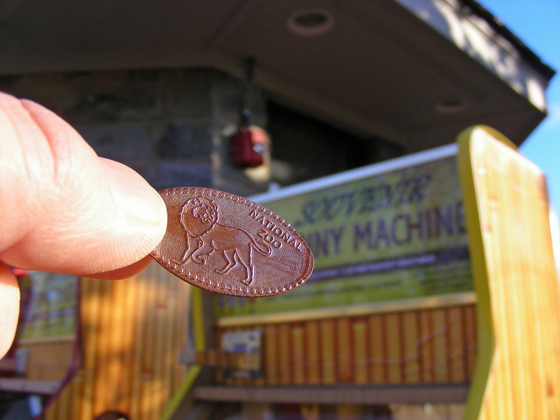 """I love these penny """"Soovenir"""" machines"""