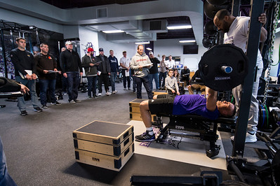 NFL Pro Day Scouting Weber
