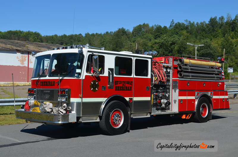 West End Fire Co., Sheridan (Porter Township) Engine 647: 1989 Pemfab/American Eagle 1500/1250 (X-Coolbaugh Township, PA)