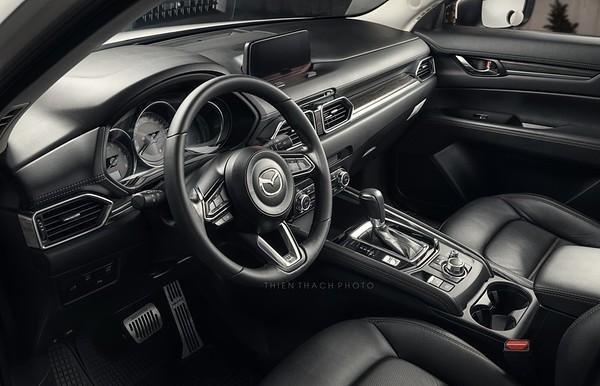 Car Interior Shooting - Mazda CX5