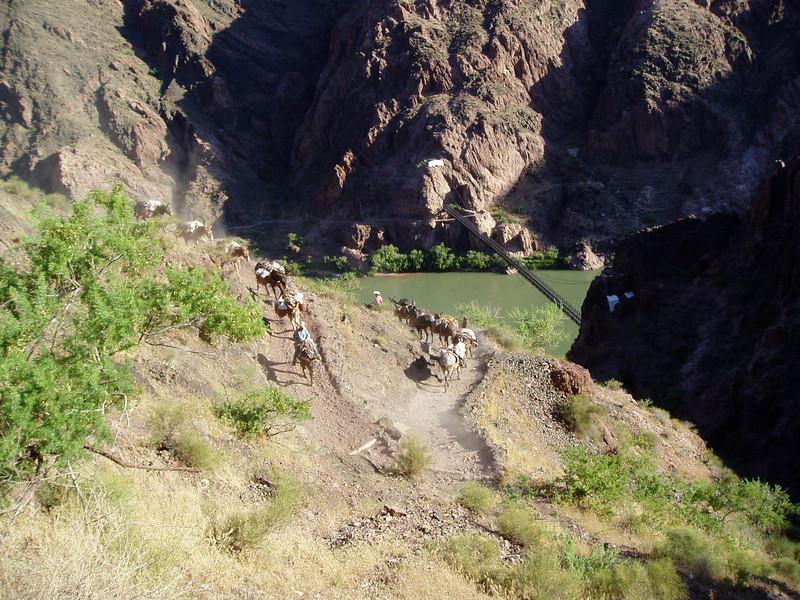 Colorado River is closer and closer.