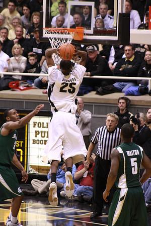 Purdue vs. Michigan State Feb 17, 2009