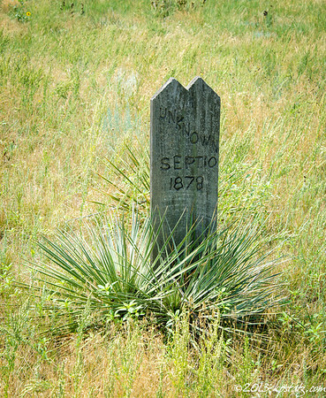 Boot Hill Cemetery, Ogallala, WY 2013
