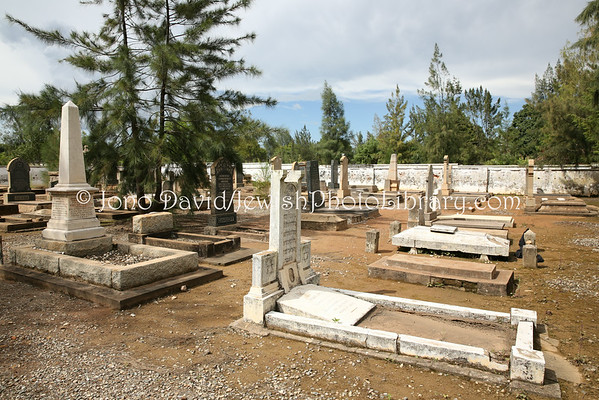 AFRICA, Congo, Democratic Republic of, Lubumbashi. Jewish cemetery (old section) (3.2014)