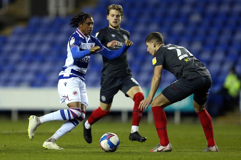 Reading FC v Brentford  - The EFL Sky Bet Championship 20/21