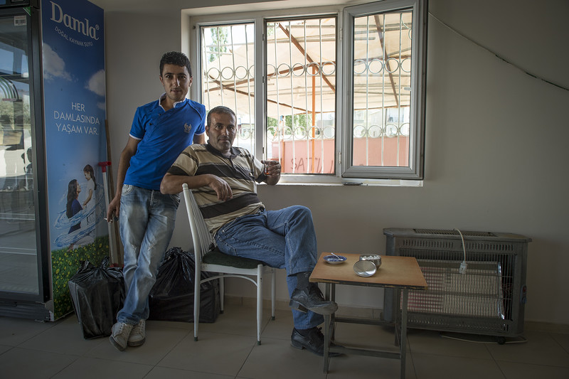 Bus station, Turkey. Father and son.jpg