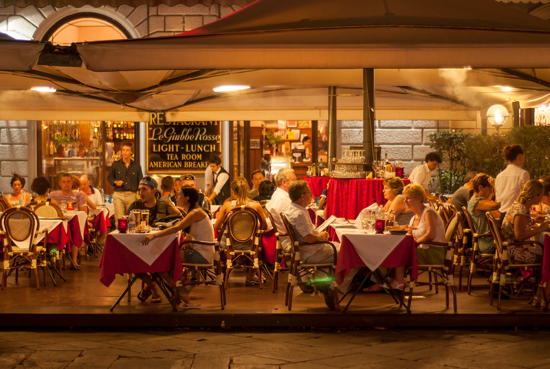 Outdoor Restaurant, Florence