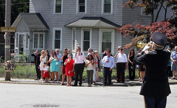 Lowell WW! veteran KIA ceremony 072118