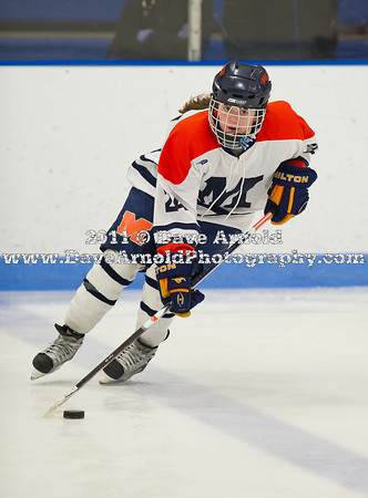 2/26/2011 - Girls Varsity Hockey - Milton vs Nobles