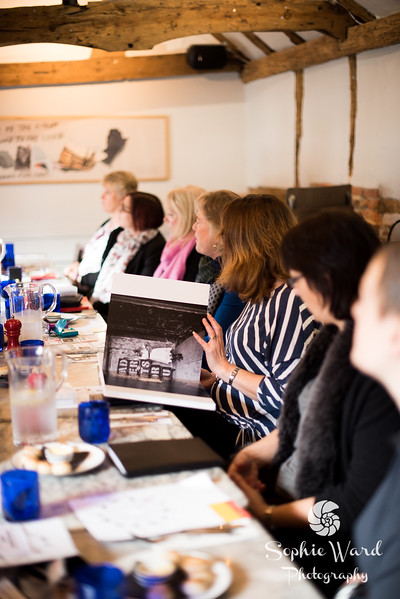 First WIB meeting of 2018 with janine Lowe speaking at Pizza Express Horsham. Sophie Ward Photography