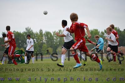 Hutch Boys Soccer 9/19/13