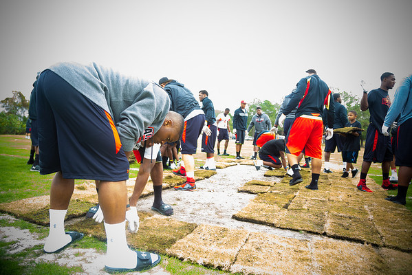 2013 UNDER ARMOUR ALL AMERICA GIVING BACK TO TO OTHERS