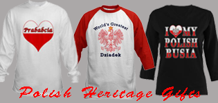 Polish Heritage T-Shirts and Gifts