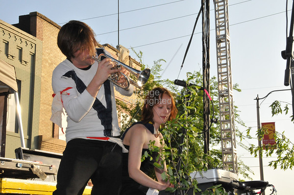British Sea Power, Norman Music Festival 2008.