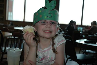 Mara's 5th Birthday - 2009