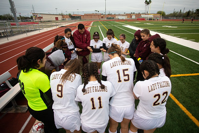 Los Fresnos vs Harlingen Girls Soccer 2019