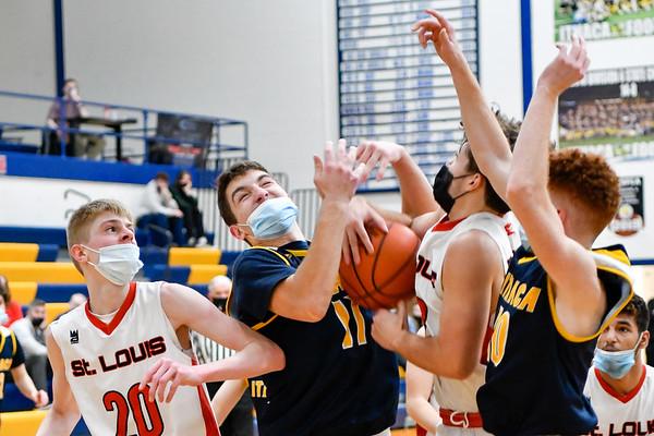 Ithaca vs St. Louis District Basketball Final 3-27-2021