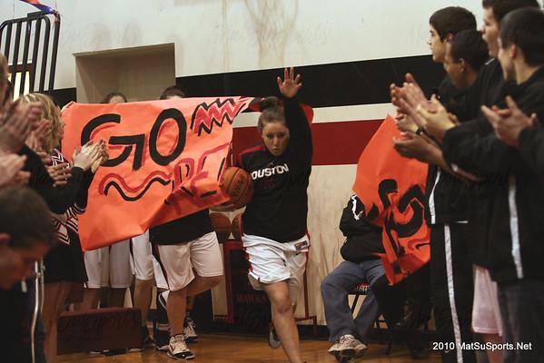 Houston Girls vs. West Valley 3-5-2010