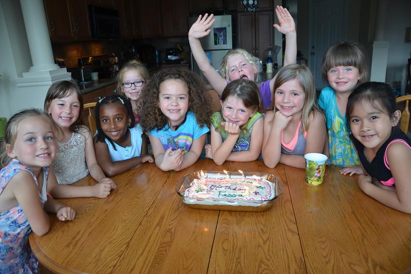 Tessa's 7th Birthday