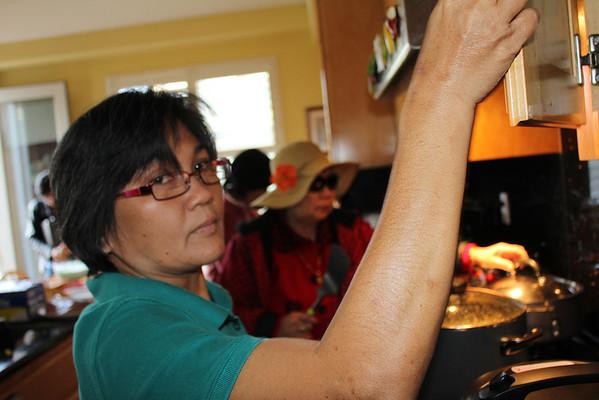 Thanksgiving Lunch Alar's Residence