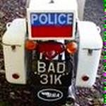 2016-1972 BSA B25 Fleetstar Police Motorcycle Gloucestershire Constabulary