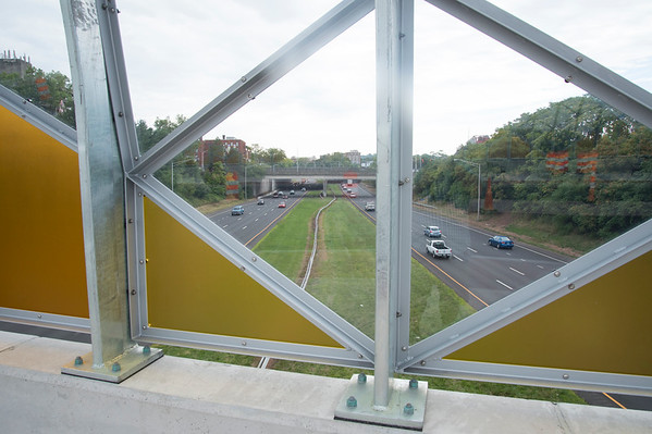 08/13/19 Wesley Bunnell | Staff View of the Beehive Bridge which passes over Route 72 in New Britain on Tuesday August 14, 2019.