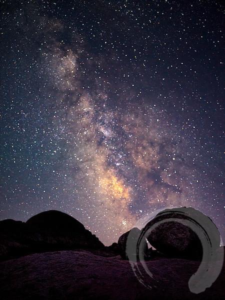 Milky Way Over Titcomb