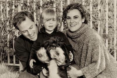 David, Noe, Aitana and Bruno, December 13, 2013