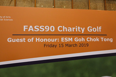 FASS90 Charity Golf