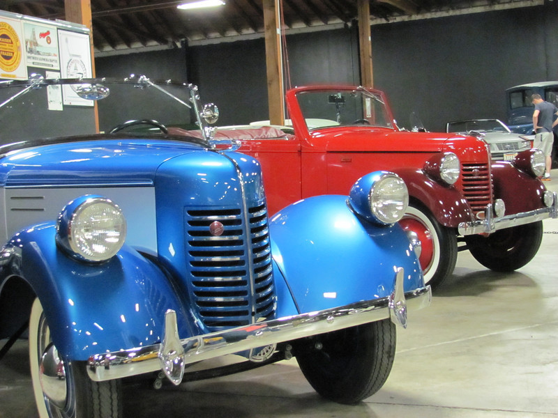 The red 1940 Riviera is For sale, contact John Lyford at bantamjohn@aol.com