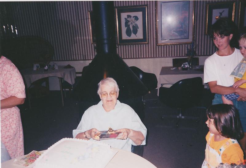 Grandma Gress Birthday - 1998
