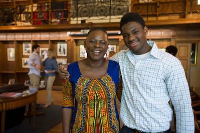 Anna Msowoya-Keys visits Taft