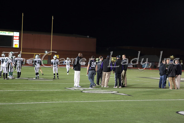 CHCA 2013 Boys Var Football vs Badin 11.16