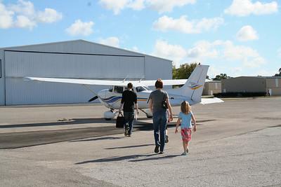 2011 Dec 24 - Flying in Florida