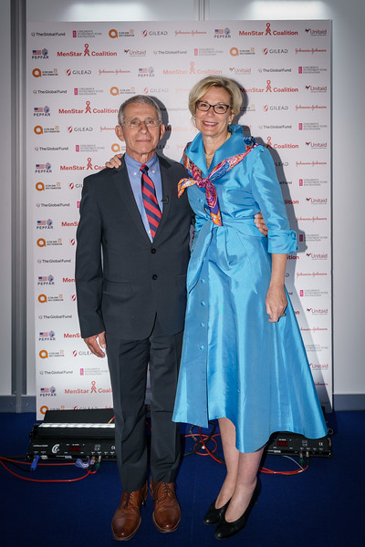22nd International AIDS Conference (AIDS 2018) Amsterdam, Netherlands.   Copyright: Matthijs Immink/IAS Durable control of HIV infections in the absence of antiretroviral therapy: Opportunities and obstacles and Jonathan Mann Memorial Lecture: Data to drive equity Photo shows:  Anthony Fauci Deborah L. Birx