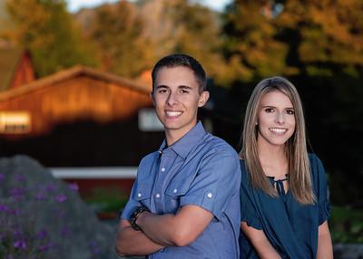 Tyler and Sami Leznek Senior 2019