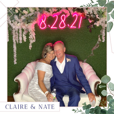 Claire + Nate's Wedding