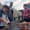 Father-Son Denver Food Cart