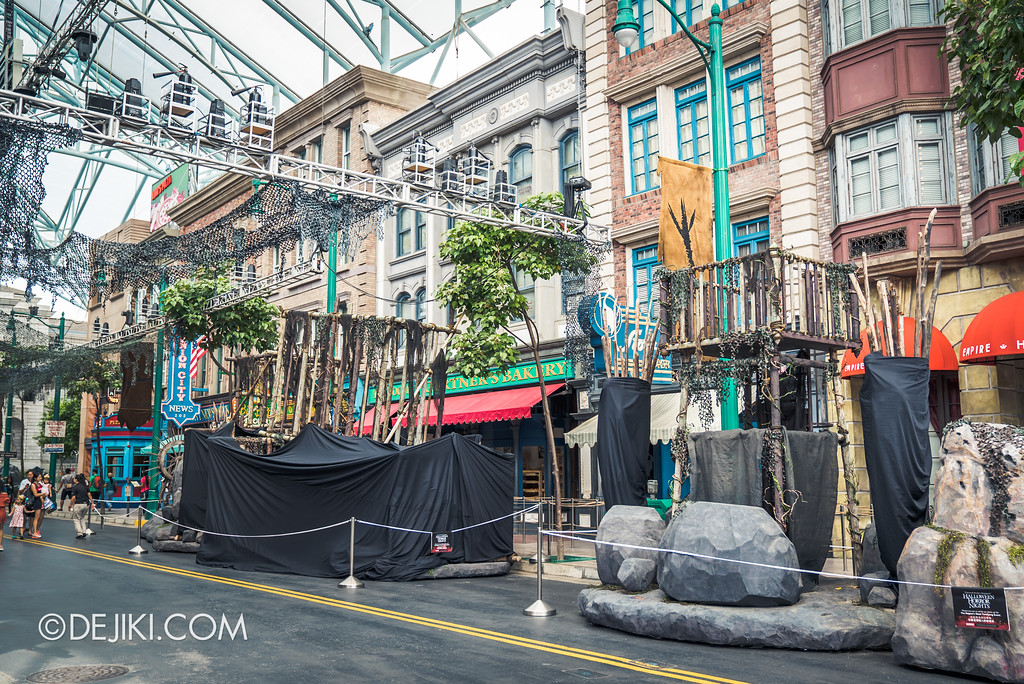 Halloween Horror Nights 7 Before Dark 5 Construction Preview - Pilgrimage of Sin overview