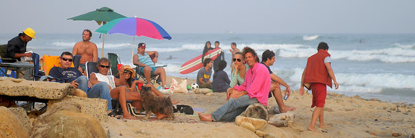 Montauk 2008, The Beach Scene, 07.19.08