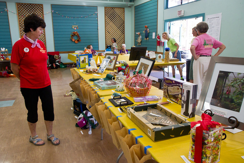 Raffle prizes  at Late Harvest Stomp