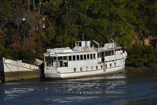 "Trumpy Yacht ""Friendship"" in Creek near Darien - For Sale Multiple dates since 12-01-16"