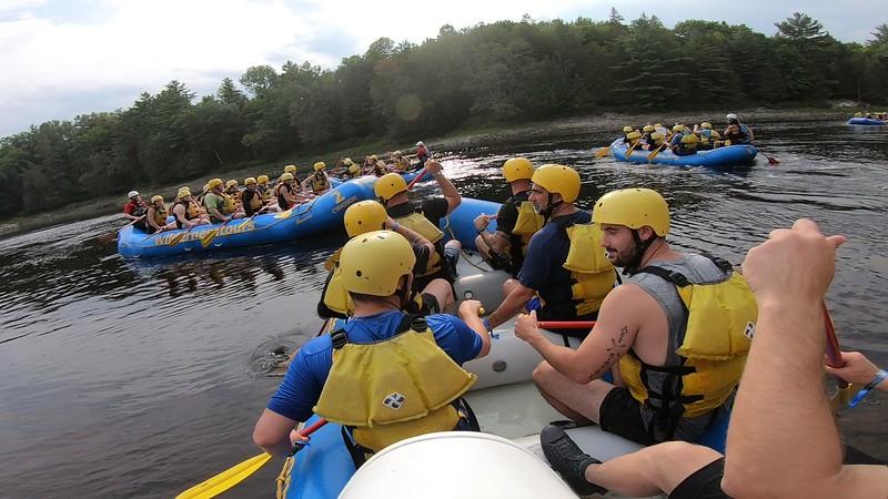 White Water Rafting Ottawa Valley August 2021