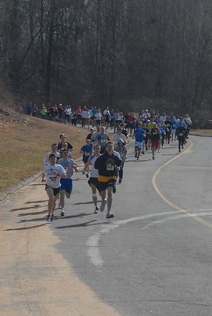April Fools 5k & 10.5 mile 2011 Start of Race