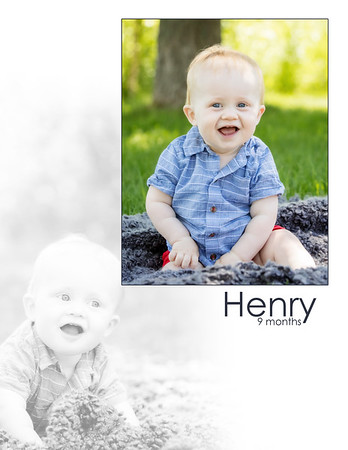 Henry 9 Months