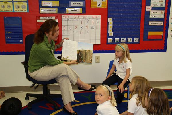 Waxler - Classroom Guests 2010-2011
