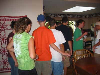 2003 Team Dinner - Leuthold's